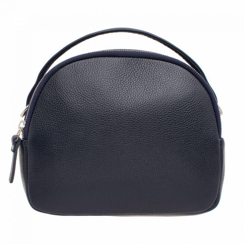 332236b86837 Купить Синяя женская сумка-кроссбоди Lakestone Cadbury Dark Blue кожаная ...